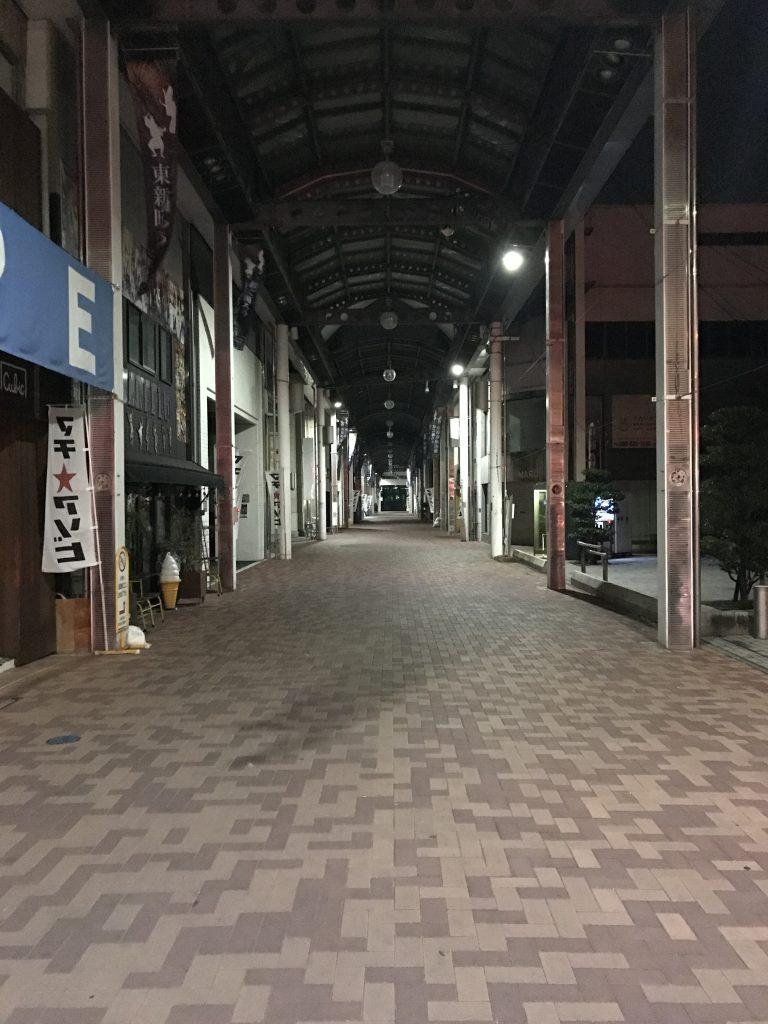 徳島市のアーケード