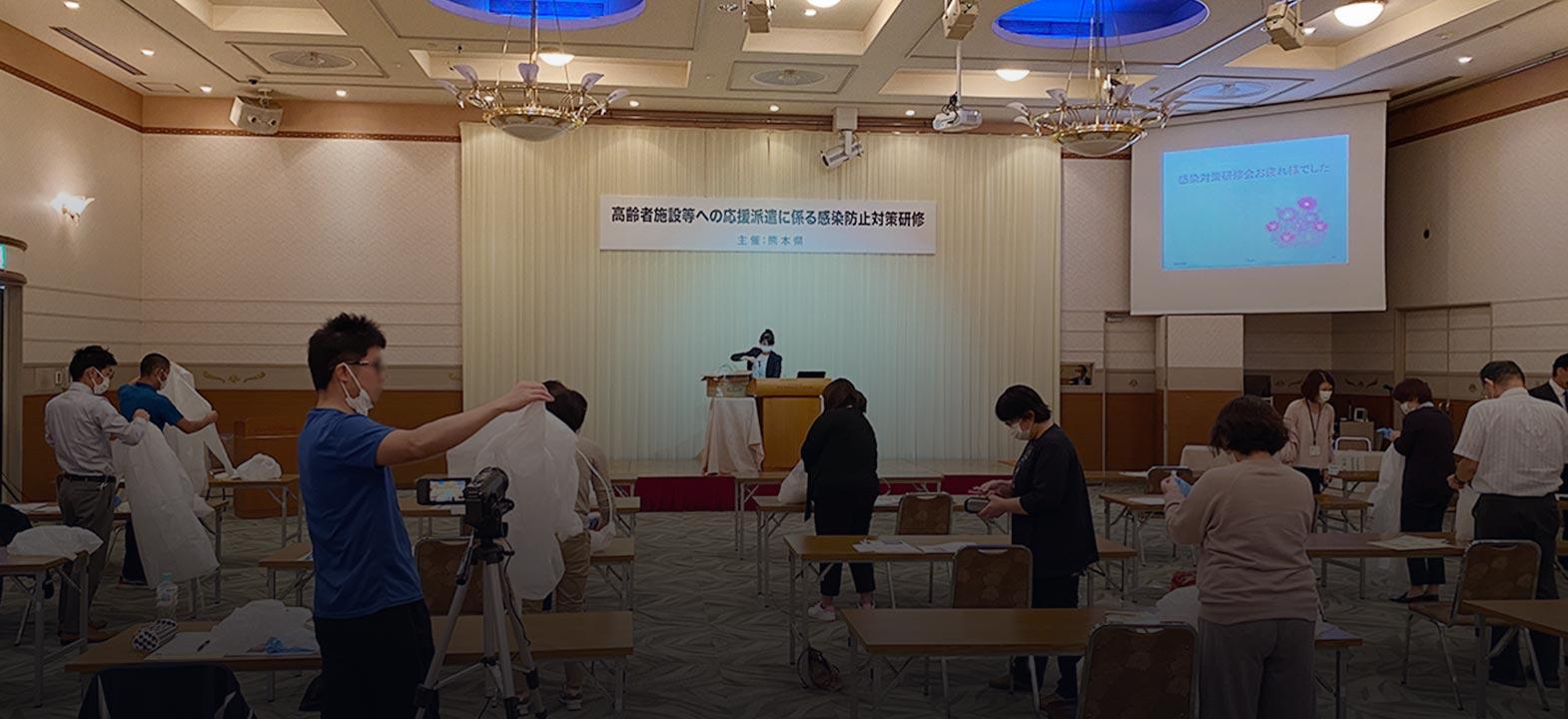 コロナと戦う介護福祉士!熊本県天草市に撮影と取材に行ってきました